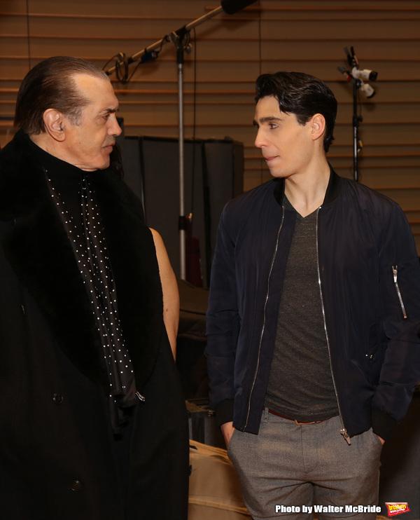 Chazz Palminteri and Bobby Conte Thornton