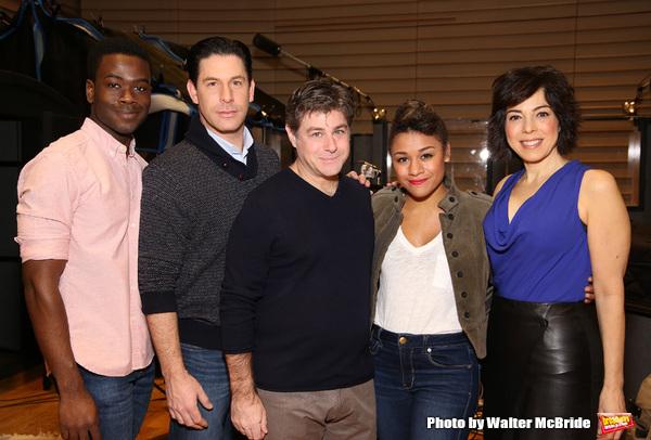 Bradley Gibson, Richard H. Blake, Glenn Slater, Ariana DeBose and Lucia Giannetta