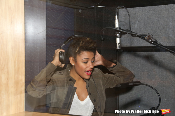 Photo Coverage: In the Recording Studio with A BRONX TALE
