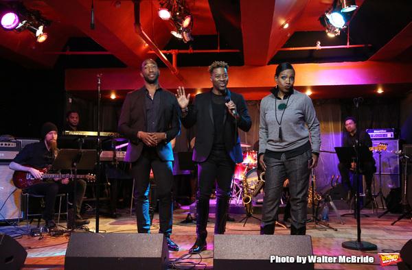 Anthony Wayne, Kendrell Bowman, and Sheryl Lee Ralph Photo
