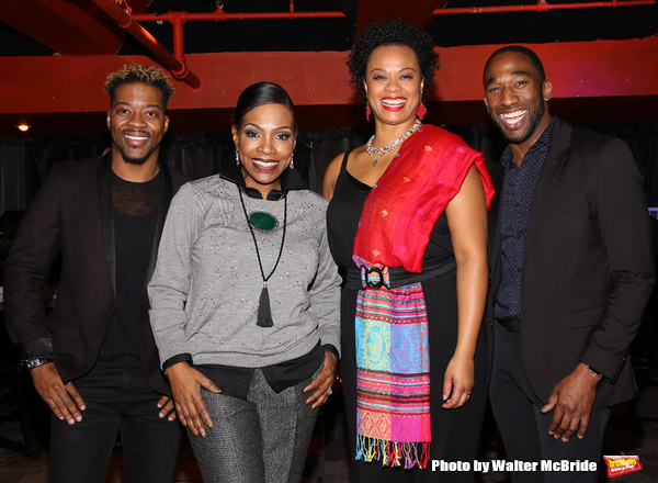 Kendrell Bowman, Sheryl Lee Ralph, Jacqueline B. Arnold and Anthony Wayne