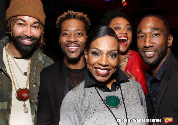 Ty Hunter, Kendrell Bowman, Sheryl Lee Ralph, Jacqueline B. Arnold and Anthony Wayne
