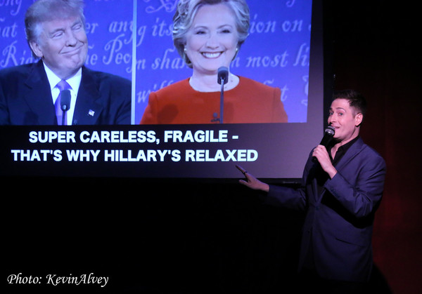 Photo Flash: Randy Rainbow Brings Outrageous Political Humor to Birdland