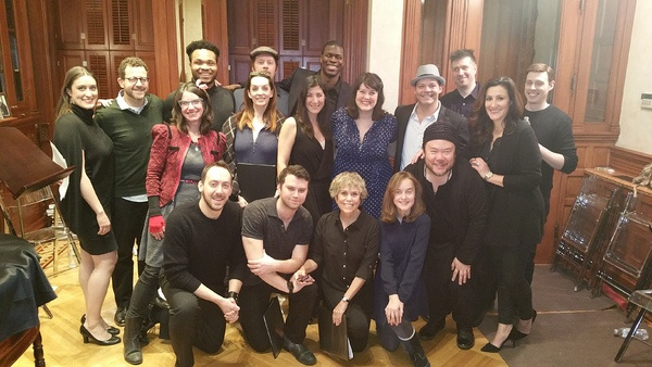 Photo Flash: Shuler Hensley, Sydney Lucas, Julia Murney and More Take Part in MARY & MAX Industry Presentation