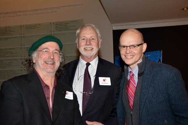 Mark Linn-Baker, John B. Beinecke and James Bundy