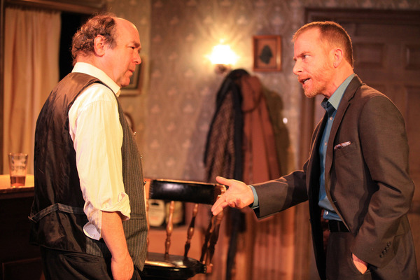 (left to right) Brad Armacost and Dan Waller in Irish Theatre of Chicago's pro Photo