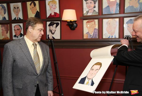 John Goodman with Max Klimavicius