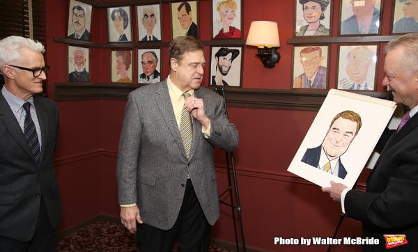 John Slattery, John Goodman with Max Klimavicius