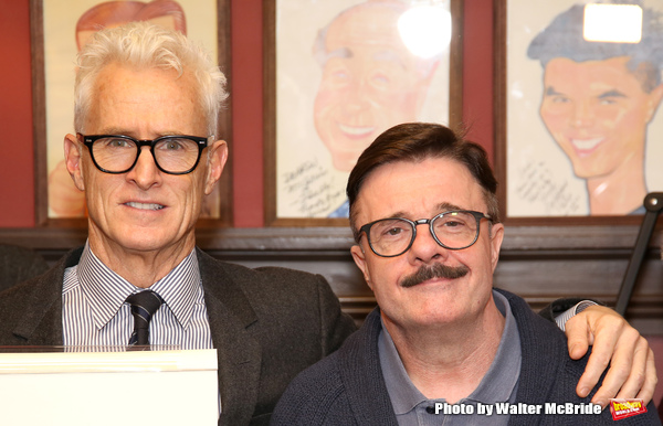 John Slattery and Nathan Lane