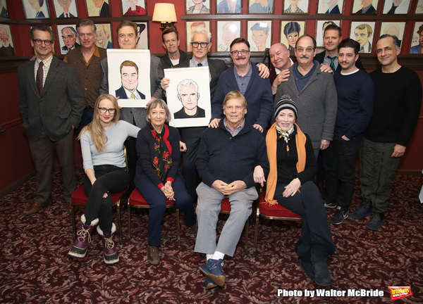 Christopher McDonald, John Goodman, Halley Feiffer,  Patricia Conolly, Dylan Baker, John Slattery, Nathan Lane, Robert Morse, Jack O'Brien, Holland Taylor, Lewis J. Stadlen, Clark Thorell, John Magaro and David Pittu