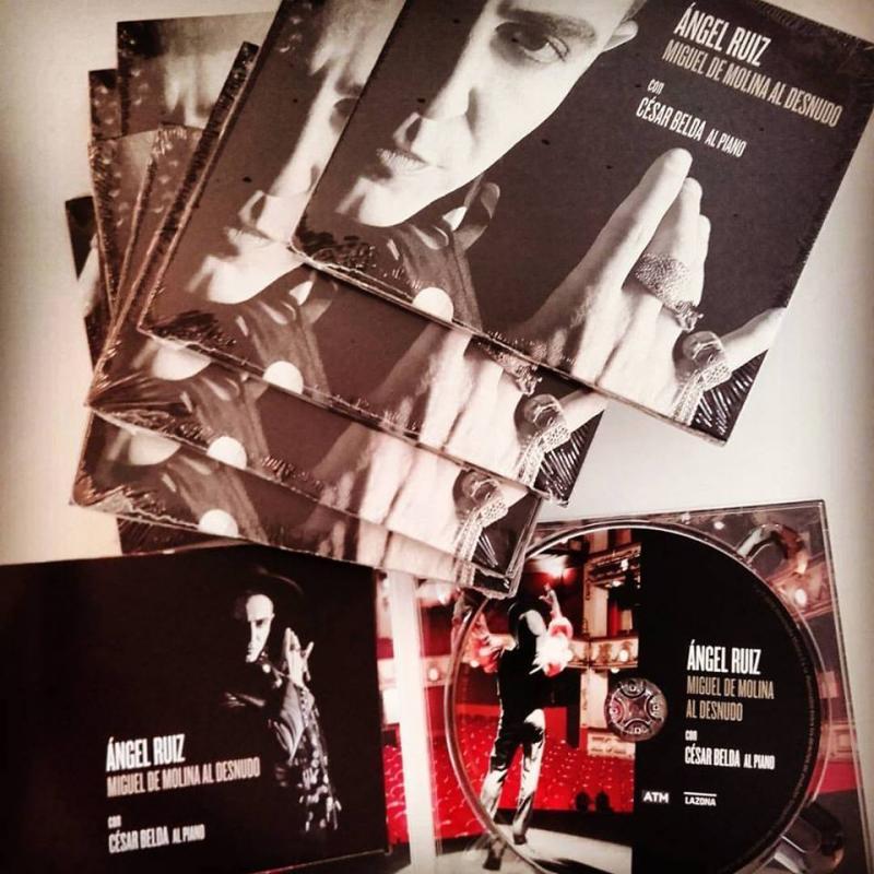 Se edita el disco de MIGUEL DE MOLINA AL DESNUDO