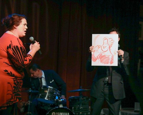 Carly Ozard & Jim Caruso Photo