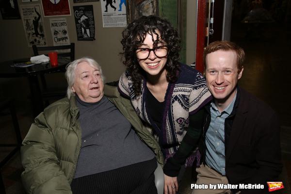 Elizabeth Ireland McCann, Adina Verson and Cody Lassen Photo