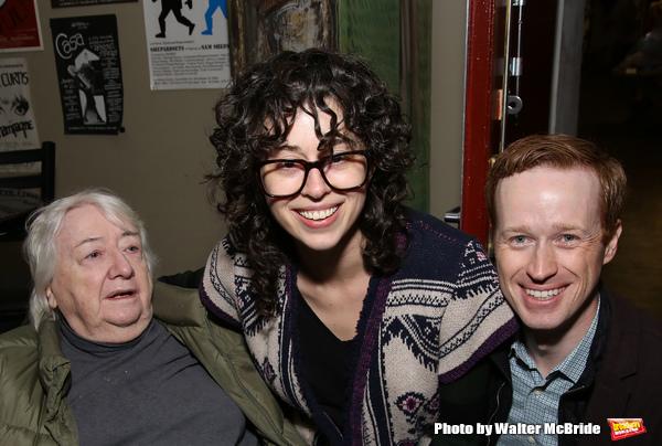 Elizabeth Ireland McCann, Adina Verson and Cody Lassen