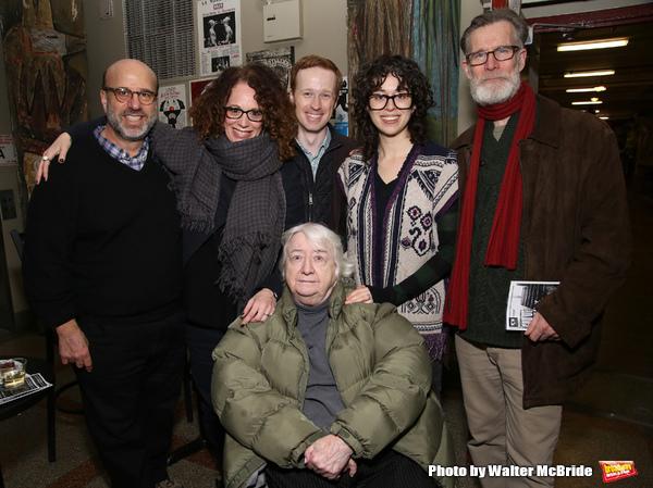 Larry Hirschhorn, Rebecca Taichman, Elizabeth Ireland McCann, Cody Lassen, Adina Verson and Tom Nelis