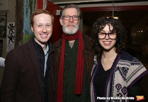 Cody Lassen, Tom Nelis and Adina Verson