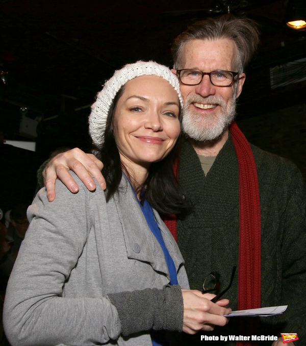 Katrina Lenk and Tom Nelis