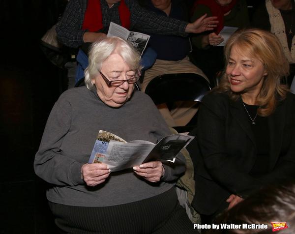 Elizabeth Ireland McCann and Sharon Fallon Photo