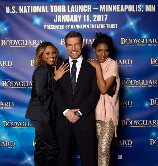 Deborah Cox, Judson Mills, and Jasmin Richardson