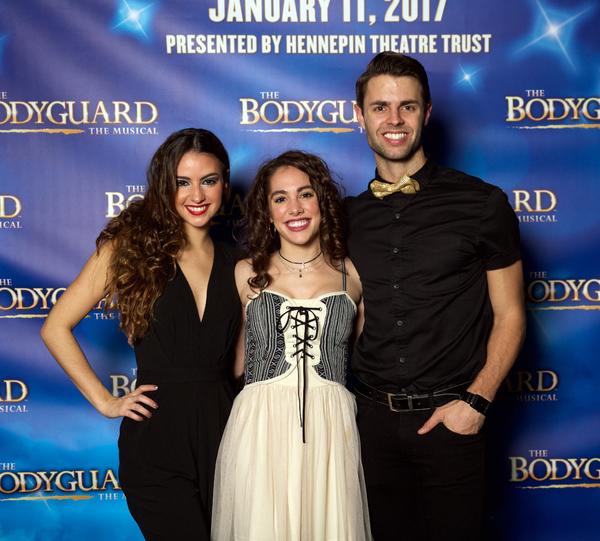 Lauren Tanner, Maria Slye and Benjamin Rivera