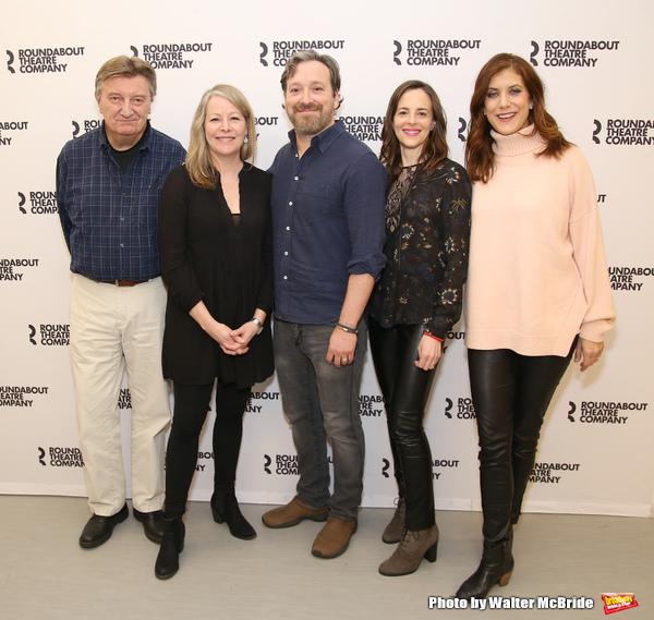 Larry Bryggman, Tasha Lawrence, Jeremy Shamos, Maria Dizzia and Kate Walsh