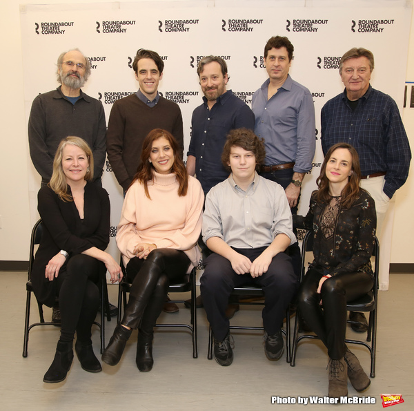 Daniel Sullivan, Steven Levenson, Jeremy Shamos, Gary Wilmes and Larry Bryggman, Tasha Lawrence, Kate Walsh, Seth Steinberg and Maria Dizzia
