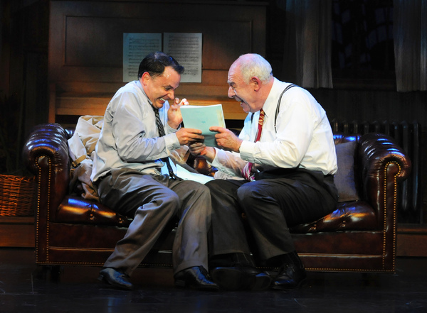 Mark Price and Lenny Wolpe star in the blockbuster Mel Brooks musical The Producers,  Photo