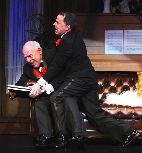 Lenny Wolpe and Mark Price star in the blockbuster Mel Brooks musical The Producers,  Photo