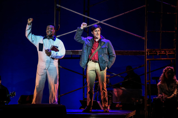 Kennen Butler (Man #1) and Bryan Banville (Man #2) in Songs For A New World. Photo