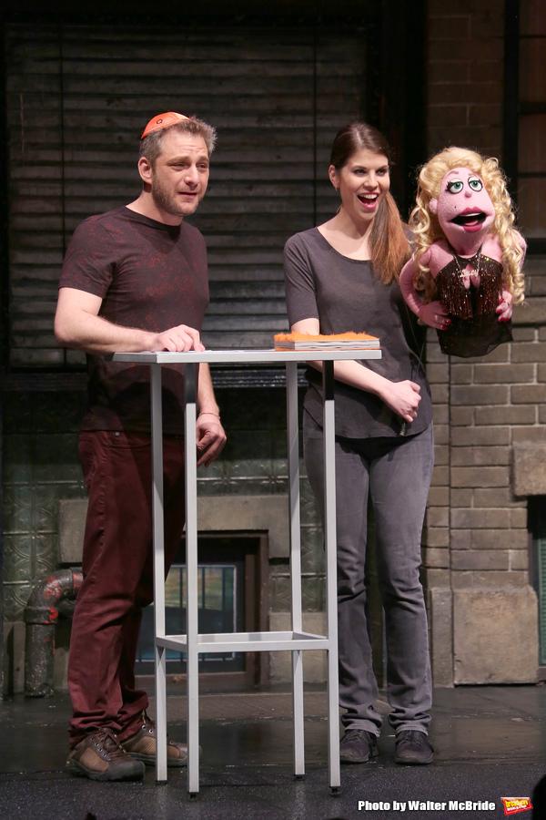 Jeff Marx, Kerri Brackin and Lucy