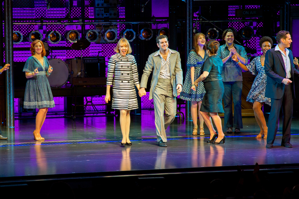 Jessica Keenan Wynn, Ben Jacoby and the cast of BEAUTIFUL