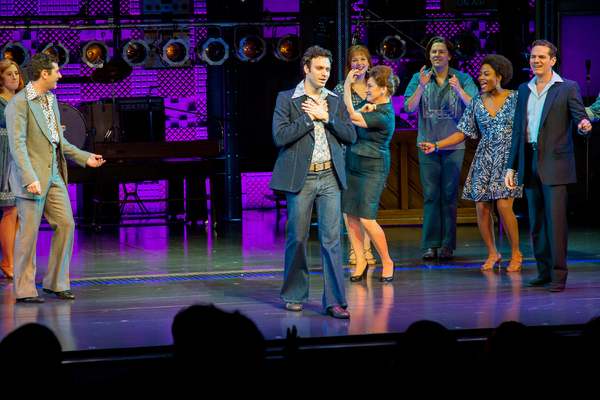 Jake Epstein and the cast of BEAUTIFUL
