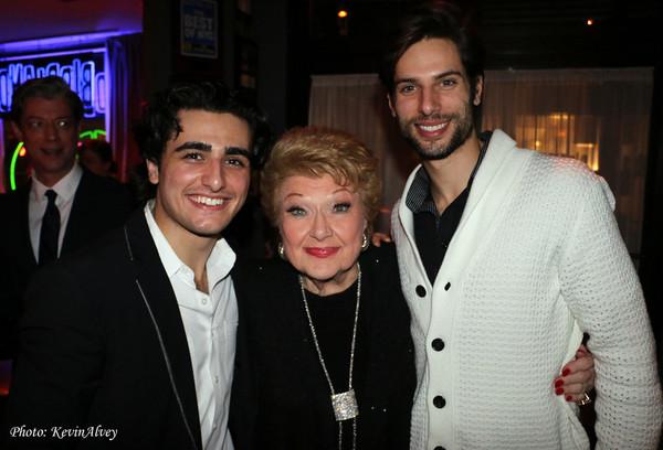 Giuseppe Bausilio, Marilyn Maye, and Yannick Bittencourt