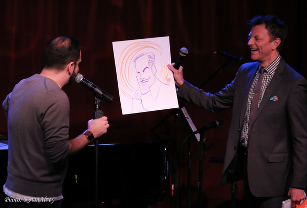 Photos: Performers Gifted with Squigs Drawings at Jim Caruso's Cast Party
