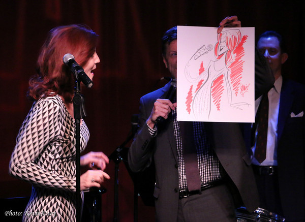 Joan Crowe and Jim Caruso
