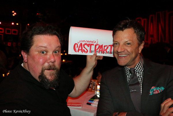 Photo Flash: Performers Gifted with Squigs Drawings at Jim Caruso's Cast Party