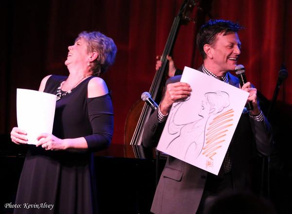 Sue Matsuki and Jim Caruso Photo