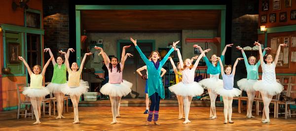 Ballet girls: Elli Kuchler, Lauren McMahon, Annie Carr, Kelly Laines, Mrs. Wilkinson (Elizabeth Argus), MaryClare Eastland, Tess Fouchi, Savannah Fouchi, Abigail Rondey, Diana Ledet