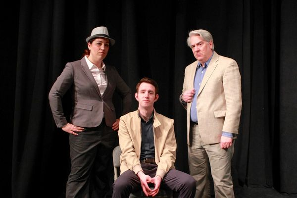 Jen Berlin, Patrick Kelly, and Barry Hatrick  Photo