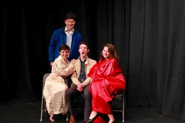 Shannon Riccio, Virgil Watson, Patrick Kelly, and Holly Fasciano  Photo