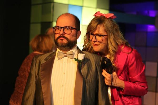 James Spangler  and Carol Ludwick