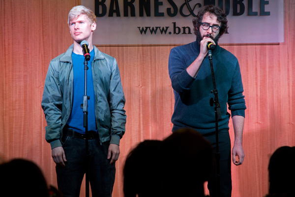 Lucas Steele, Josh Groban