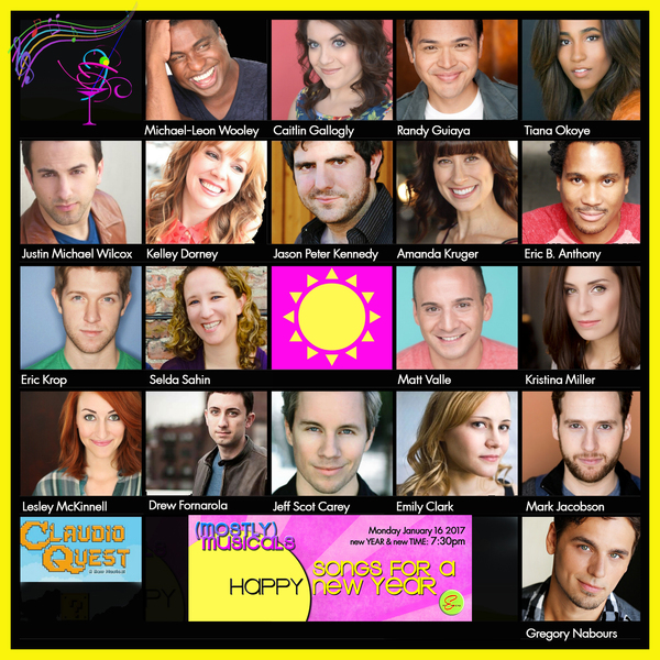 Photo Flash: Michael Leon-Wooley, Eric Michael Krop and More Announced for (mostly)musicals SONGSFORAHAPPYNEWYEAR