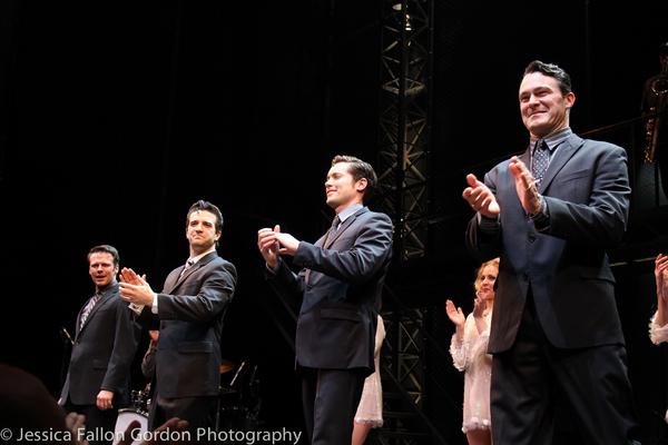 Nicolas Dromard, Mark Ballas, Drew Seeley and Matt Bogart