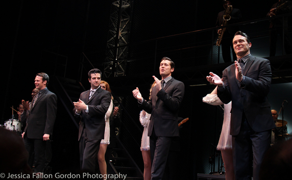 Nicolas Dromard, Mark Ballas, Drew Seeley and Matt Bogart Photo
