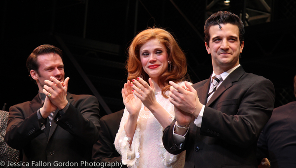 Nicolas Dromard, Jessica Rush and Mark Ballas