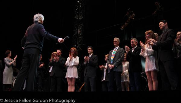Frankie Valli and the cast of Jersey Boys