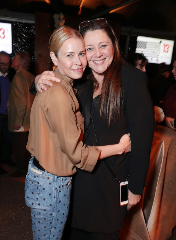 Chelsea Handler and Camryn Manheim