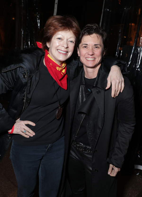 Frances Fisher and Kimberly Peirce