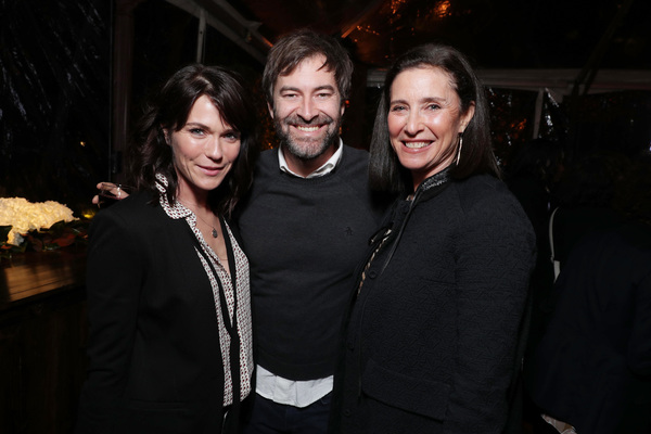 "Katie Aselton, Mark Duplass and Mimi Rogers seen at Netflix's original documentary ""13TH"" reception hosted by Netflix Chief Content Officer Ted Sarandos and Ambassador Nicole Avant with a special conversation moderated by Oprah Winfrey with director Ava D"